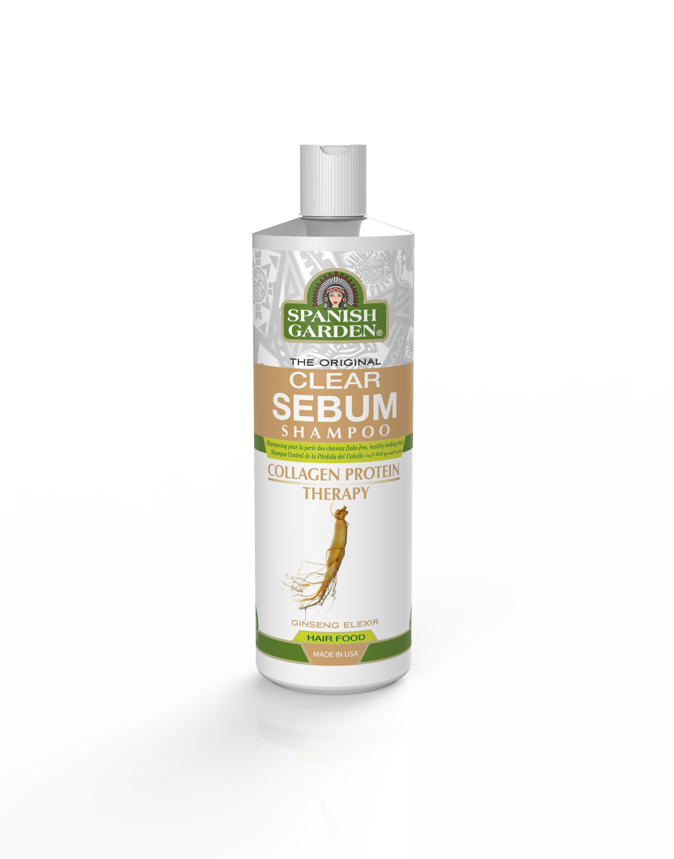 New bottle Shampoo-Clear Sebum